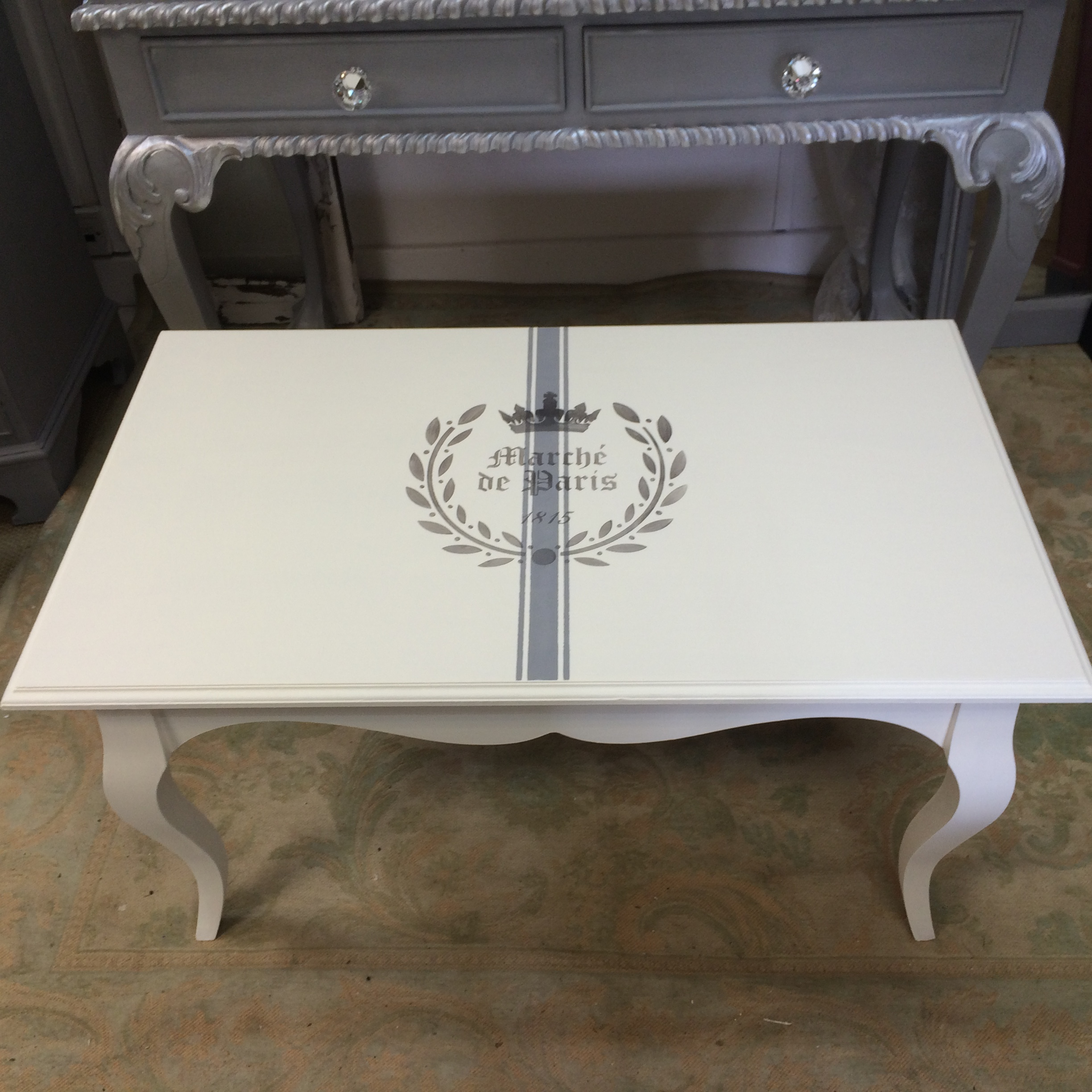French Louis Style Coffee Table